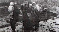1993: Eine Familie auf der Flucht in den Wäldern Zentralbosniens