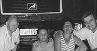 Bosnische Familie