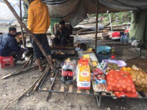 Ein Shop im Camp